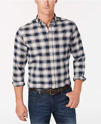 Club Room Men's Connery Plaid Shirt, Created for Macy's