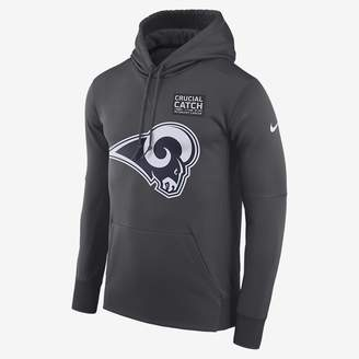 Nike Dri-FIT Therma Crucial Catch (NFL Rams) Men's Pullover Hoodie