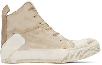 Boris Bidjan Saberi Off-White Bamba 1 High-Top Sneakers