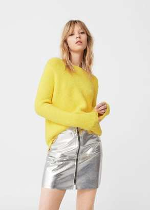 MANGO Chunky-Knit Sweater $69.99 thestylecure.com