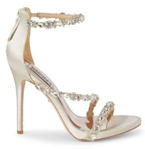 724bf10a381 Badgley Mischka Quest Crystal Embellished Sandals