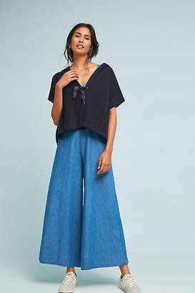 Anthropologie Tie-Front Poncho