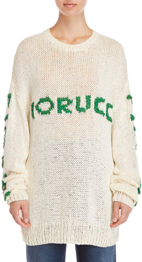 Fiorucci Oversized Chunky Knit Sweater