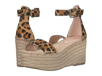 J.Crew Marina Espadrille Platform Wedge in Haircalf