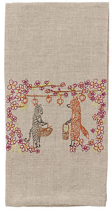 Coral & Tusk Spring Celebration Tea Towel