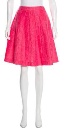 Miu Miu Pleated Knee-Length Skirt