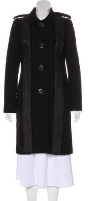 Chloé Accented Knee-Length Coat