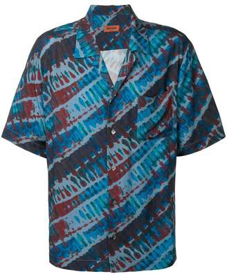Missoni tie-dye print short-sleeve shirt