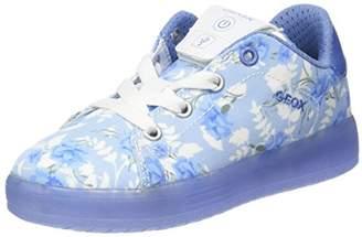 Geox Girls' J Kommodor B Low-Top Sneakers