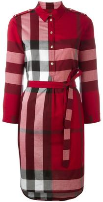 Burberry 'House Check' shirt dress $593.82 thestylecure.com