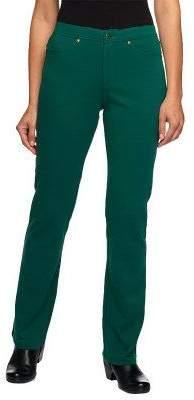 Isaac Mizrahi Live! Icon Grace Regular Ponte Knit Pants