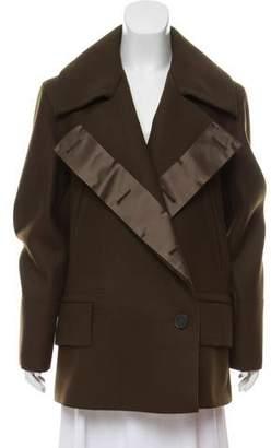 Gucci Wool Swing Coat