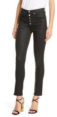 Veronica Beard Debbie High Waist Skinny Jeans