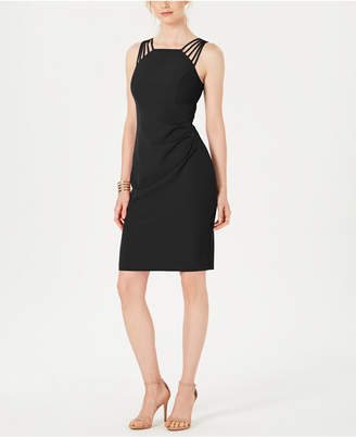Vince Camuto Multi-Strap Halter Dress