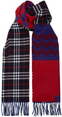 Burberry Cashmere Reversible Scarf