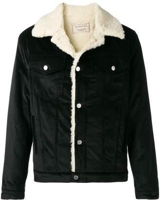 MAISON KITSUNÉ buttoned sheepskin jacket