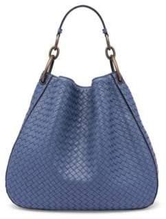Bottega Veneta Woven Nappa Leather Hobo Bag