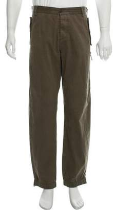 Dolce & Gabbana Zip-Accented Flat Front Pants Zip-Accented Flat Front Pants