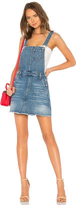 7 For All Mankind Mini Skirt Overall Dress.