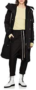 Rick Owens Women's Tech-Faille Bomber Coat - Black
