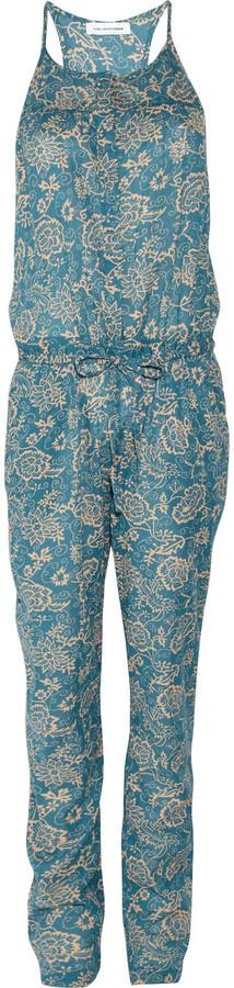 Etoile Isabel Marant Seth floral-print cotton-voile jumpsuit