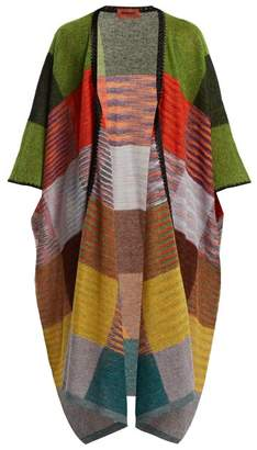 Missoni Checked Knit Cardigan - Womens - Multi