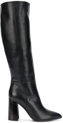 Deimille knee-length heel boots