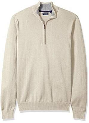 Izod Men's Premium Essentials 1/4 Zip Sweater