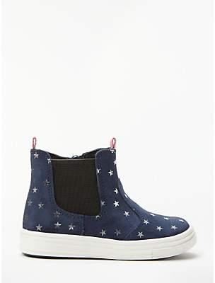 John Lewis & Partners Children's Sofia Chelsea Boots, Navy
