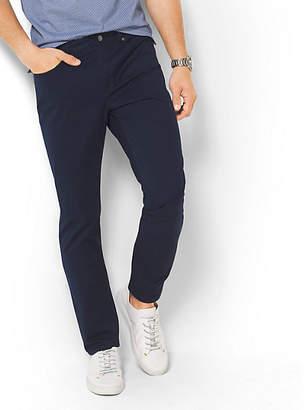 Michael Kors Slim-Fit Cotton-Twill Five-Pocket Pants