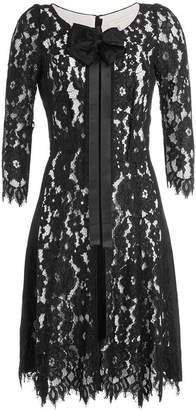 Marc Jacobs Lace Dress with Bow and Ribbon