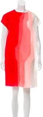 Fendi Silk Shift Dress