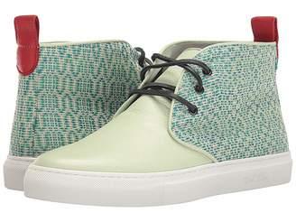 Del Toro High Top Textile/Leather Chukka Sneaker Men's Shoes