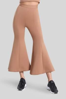 Cushnie Caramel Dani High Waist Cropped Pant
