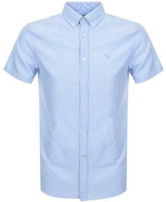 Barbour Short Sleeve Logo Shirt Blue