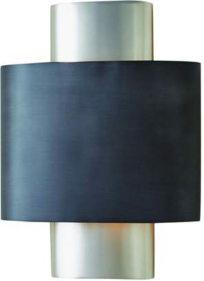 Global Views ~Nordic Wall Sconce-Antique Nickel-Hardwired