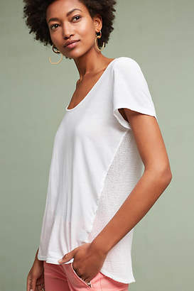 Michael Stars Knit-Back Tee $68 thestylecure.com