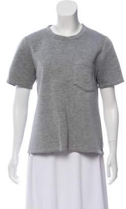 Jonathan Simkhai Short-Sleeve Crop Top