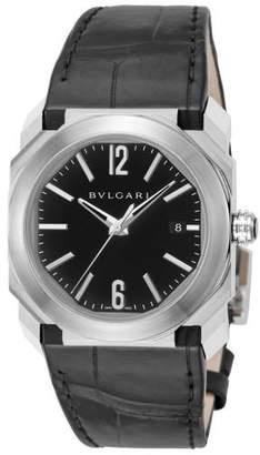 Bvlgari 【25%OFF】ブルガリブルガリ 腕時計 BGO38BSLDユニセックスブラックF【 】【セール開催中】