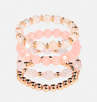 Avenue Blush Gold Bead Bracelet