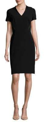 Lafayette 148 New York Catalina Solid Short-Sleeve Dress