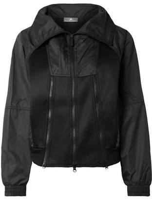 adidas by Stella McCartney Train Shell And Scuba Jacket - Black