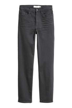 H&M Slim-fit Pants - Dark gray - Women