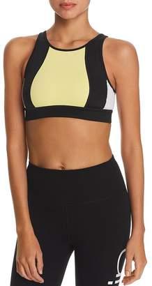 Calvin Klein Color-Block Strappy Sports Bra