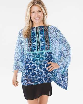 Gottex Collage Swim Cover-Up Kimono Dress