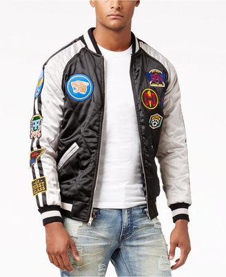 Reason Men's Traveler Souvenir Bomber Jacket $100 thestylecure.com