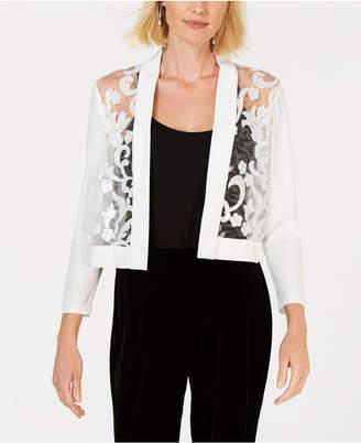 R & M Richards Sequin Bolero Jacket