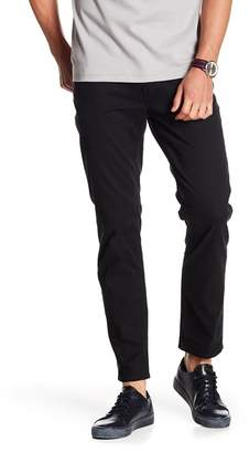 DKNY Stretch Twill Tapered Leg Pants