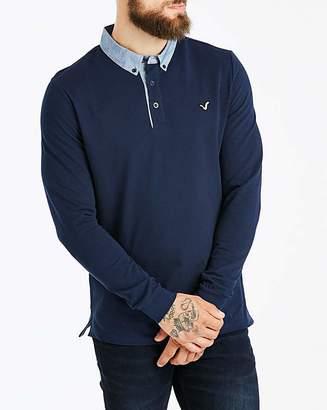 Voi Jeans LS Typhoon Collar Polo Regular