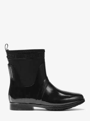 MICHAEL Michael Kors Hilda Rubber and Neoprene Rain Boot